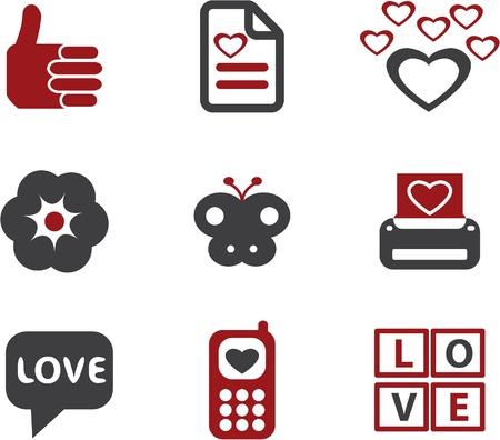 love signs Ilustração