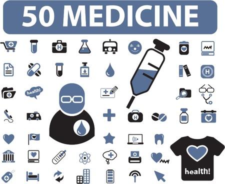 spital ger�te: 50 Medizin-Zeichen