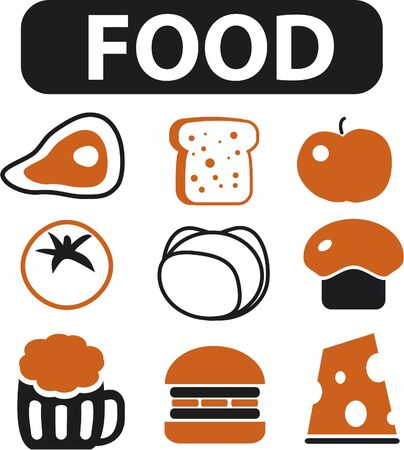 food signs Stock Photo - 8953060