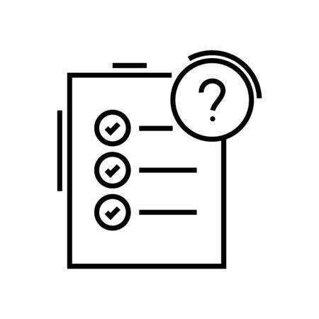 Big issue line icon, concept illustration, outline symbol, vector sign, linear symbol. Illustration