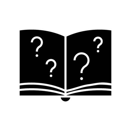 Visible target black icon, concept illustration, glyph symbol, vector flat sign.