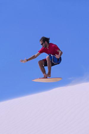 Sandboarding photo
