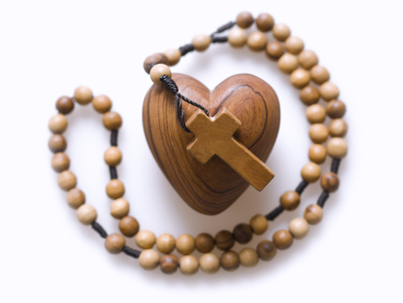 rosary beads: God is love