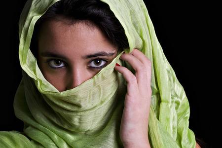 femme musulmane: Portrait d'une femme musulmane