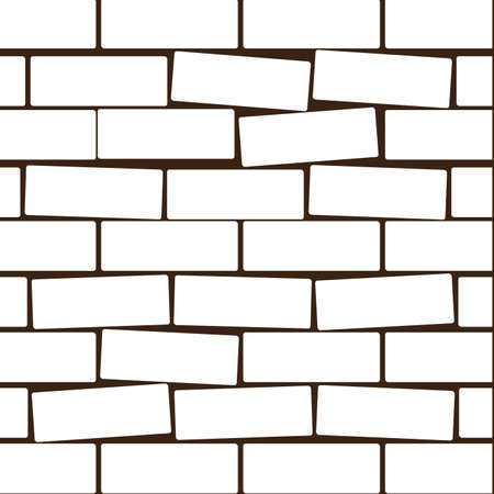 Background of a wall from a white brick Stock Photo - 7700462