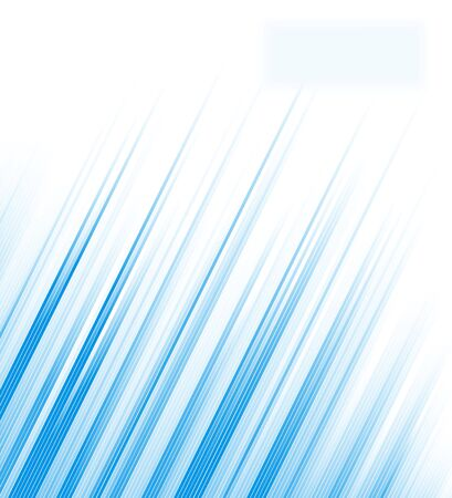 Multiple abstract blue lines Stock Photo