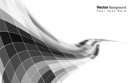 distorted: Vector mosaic background