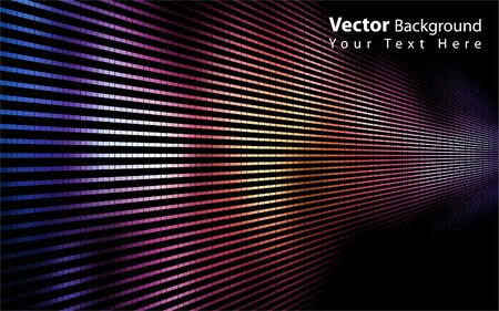 rectangle patterns: Vector colorful abstract background
