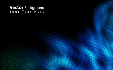 bluish: Vector colorful mosaic background