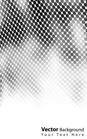 Beautiful vector blackwhite background Vector