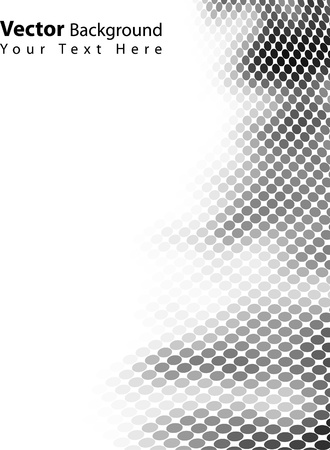 Beautiful vector blackwhite background Vector