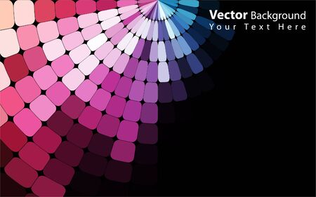 multi colors: Vector colorful abstract background