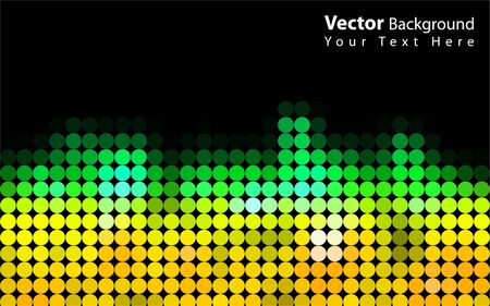 Vector colorful abstract background Vector