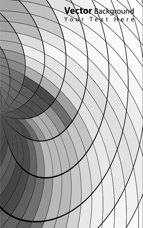 Vector abstract grayscale background