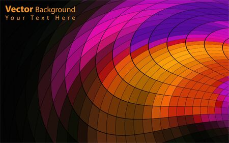 pink swirl: Vector colorful abstract background