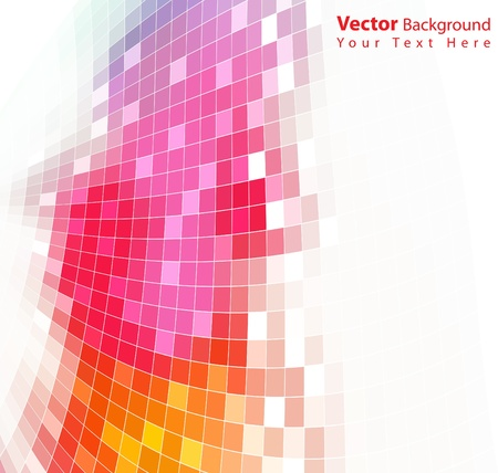 Vector colorful abstract background Reklamní fotografie - 10271527