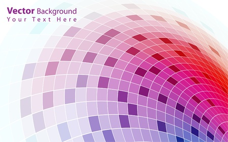 distorted: Vector colorful abstract background