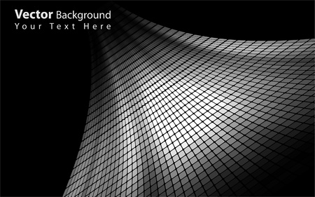 rectangle patterns: Vector abstract grayscale background