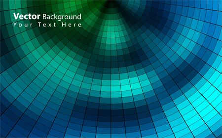 Vector colorful mosaic background Vector