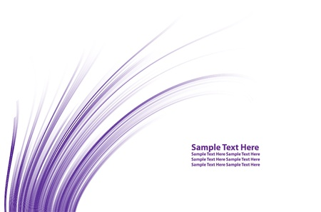 numerous: Numerous vector abstract purple lines