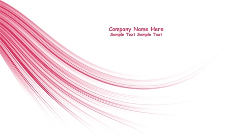 Numerous vector abstract pink lines