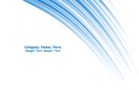 numerous: Numerous vector abstract blue lines Illustration