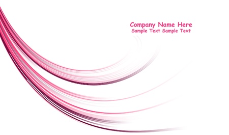 numerous: Numerous vector abstract pink lines