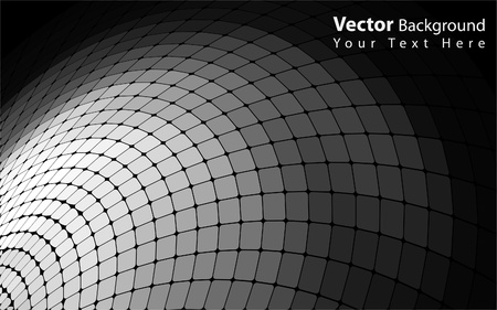 Vector abstract grayscale background Vector