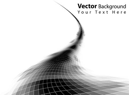 Fondo de vectores abstractos en escala de grises Ilustración de vector