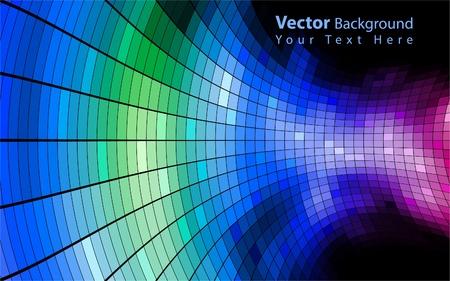 Vector sfondo colorato abstract Archivio Fotografico - 10317381