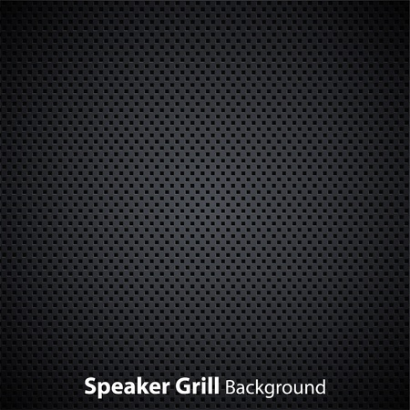 realistic speaker grill texture Illustration
