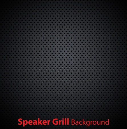 speaker grill realistic textures Illustration
