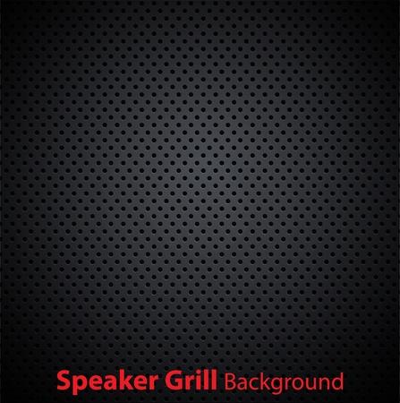 Realistic vector speaker grill texture Vettoriali