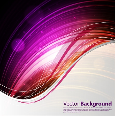 fully: EPS10 vector fully editable colorful abstract background