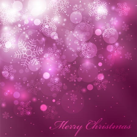 flakes: EPS10 Vector colorful christmas background