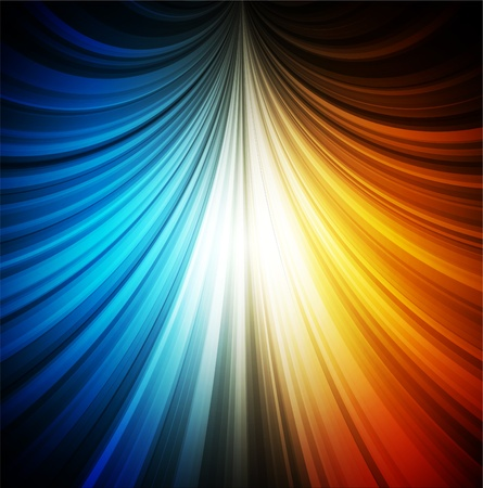 Smooth colorful abstract fantasy background photo