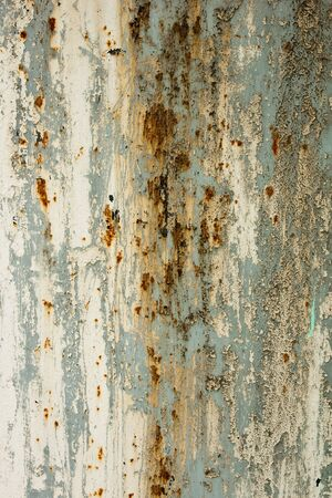 oxidized: Rusted metal texture Stock Photo