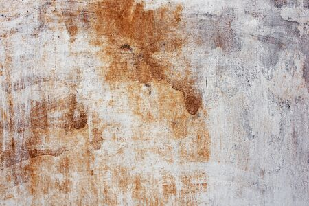 run down: Old grungy distressed rusted metal