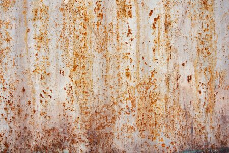 oxidized: Dirty rusted metal texture Stock Photo
