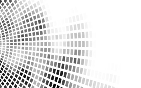 Abstract grayscale mosaic background for design use