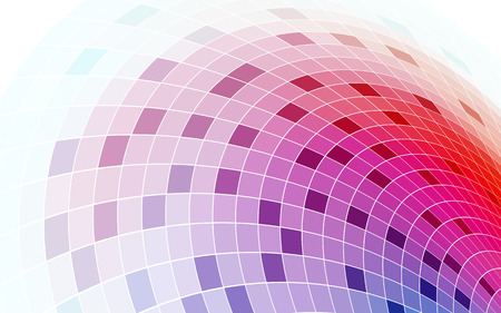 Abstract colorful mosaic background for design use
