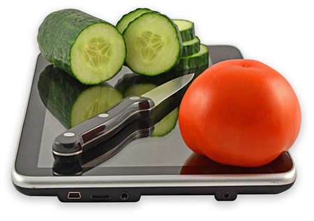 image symbolizes the cutting board for cutting vegetables