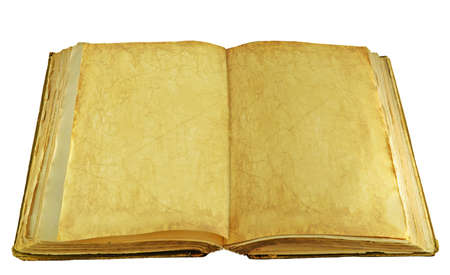 antique book isolated on a white background Stock Photo - 17884282