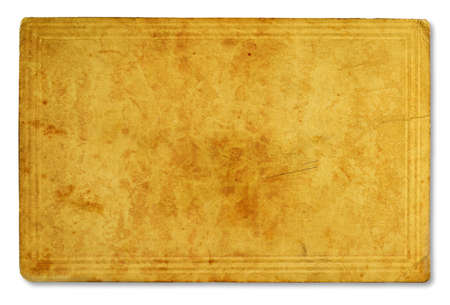 antique paper texture isolated on white background