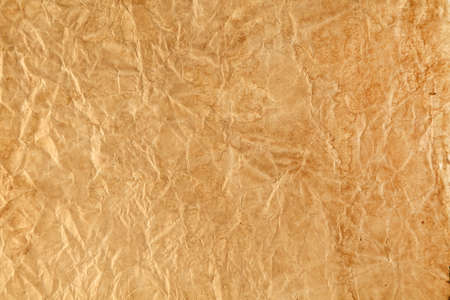 texture of crumpled, dirty, brown paper