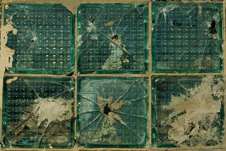 Broken windows. Texture Pattern Stock Photo - 6295442