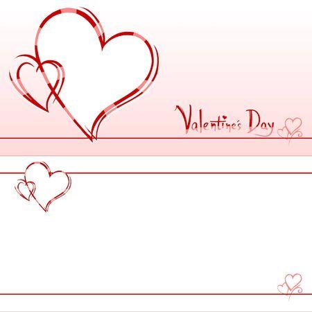Valentine's invitation card Stock Photo - 6295387