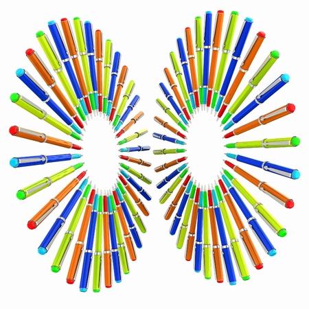 clericalist: corporate pen design