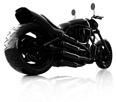 abstract racing motorcycle concept Reklamní fotografie - 27424141