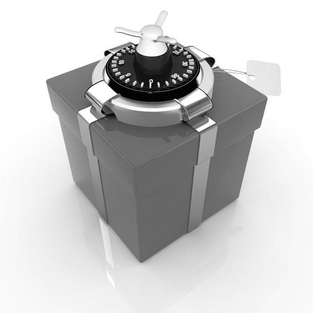 accountig: safe - gift
